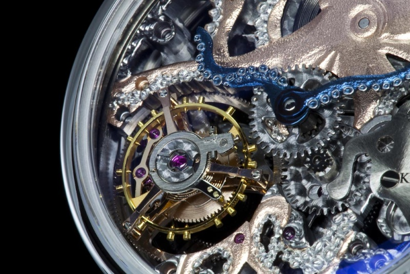 Tentacled octopus watch