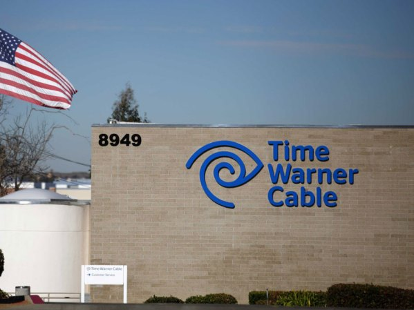 REUTERS/Mike Blake. A Time Warner Cable office is pictured in San Diego, California.