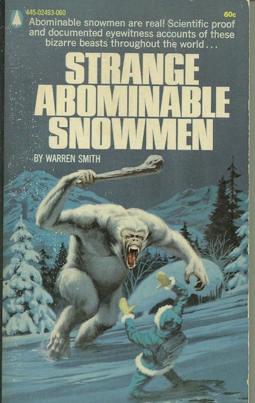 1970 Cryptozoology Paperback Cover Painting Found At Yard