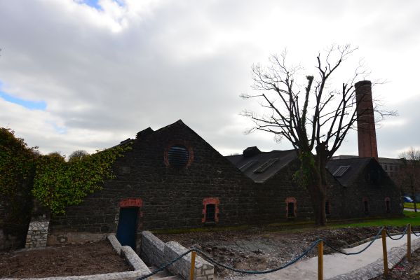 Warehouse where coopers have worked for Jameson since 1780