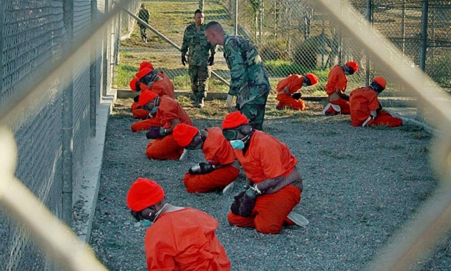 Detainees at Guantanamo Bay. Image: US Department of Defense.