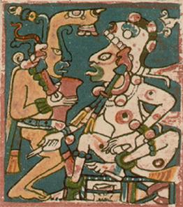 Hunahpu-and-Xbalanque-Maya-Codex-at-Dresden