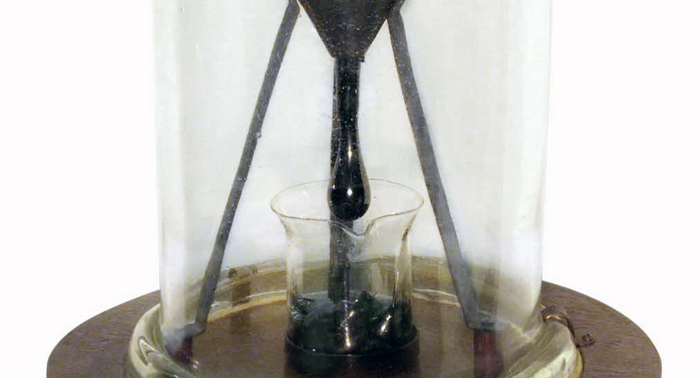 Pitch Drop Experiments Science S Long Wait Boing Boing