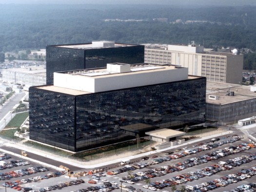 National Security Agency  headquarters in Fort Meade, Maryland.