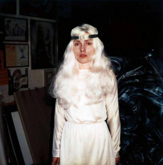 H.R. Giger, Headband, 1981. Metal. Designed for Backfired, 1981