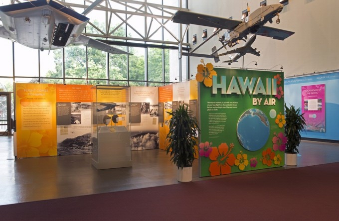 """The exhibition, """"Hawaii by Air,"""" will open at the National Air and Space Museum in Washington, D.C. July 25 and will be on view for one year."""