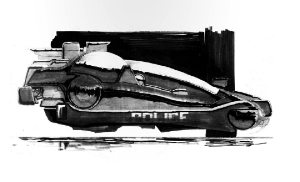 Blade Runner production drawings / Boing Boing