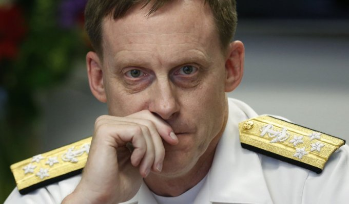 NSA Director Adm. Michael Rogers [REUTERS]