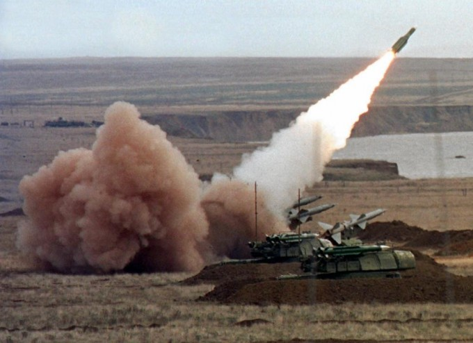 File image of a Russian Buk anti-aircraft missile, in action. [Reuters]