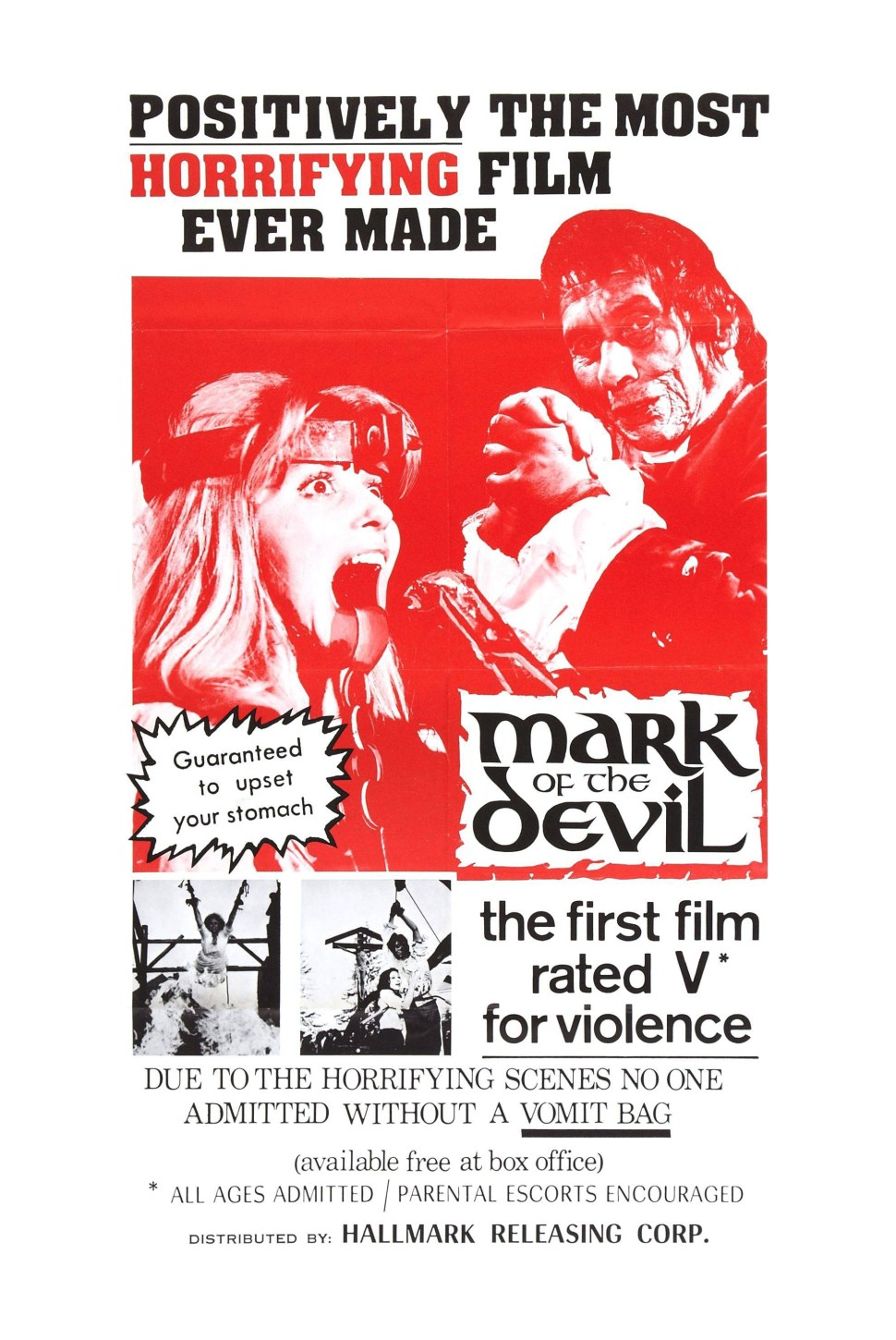 HMM mark of the devil poster
