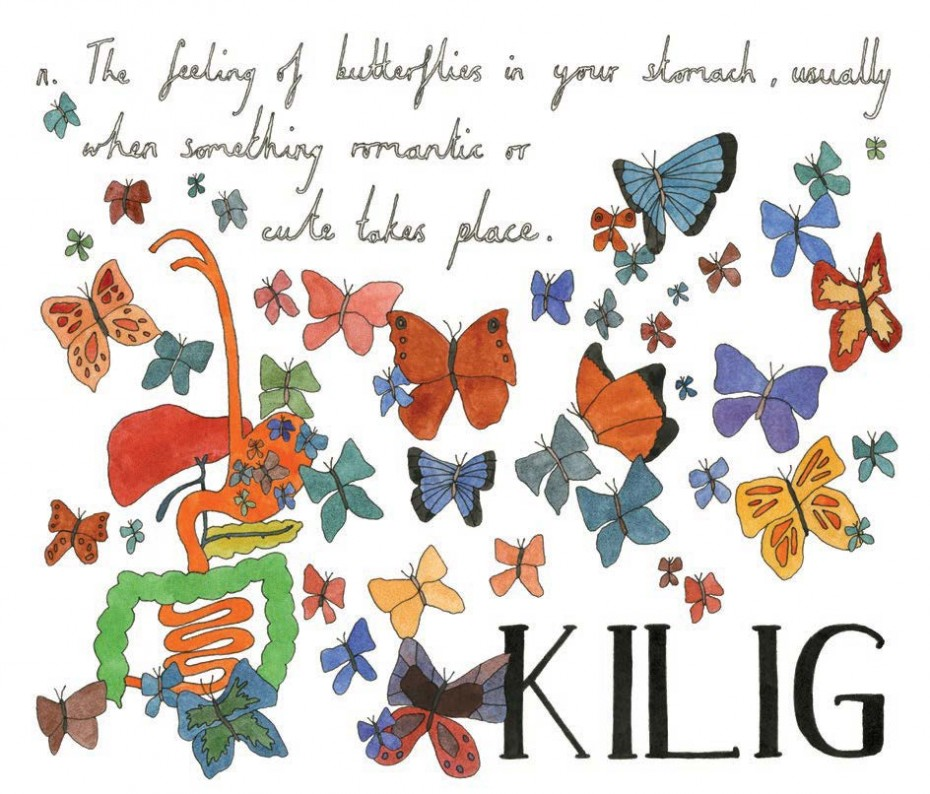 Kilig - Tagalog, noun