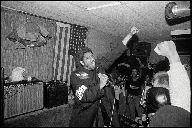 Bad Brains, 1982, New York City.