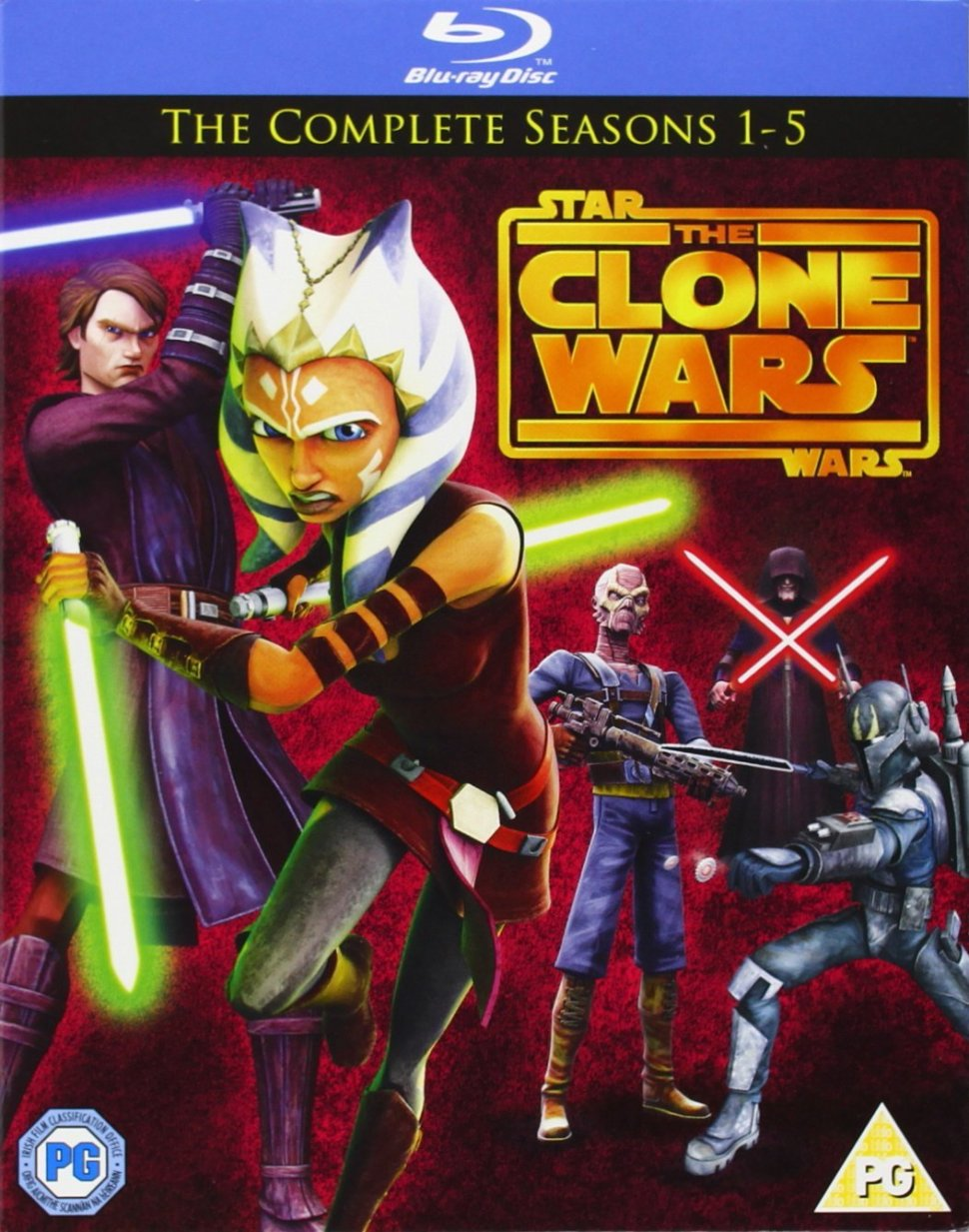 Star Wars-Clone Wars: Season 1-5 [Blu-ray]