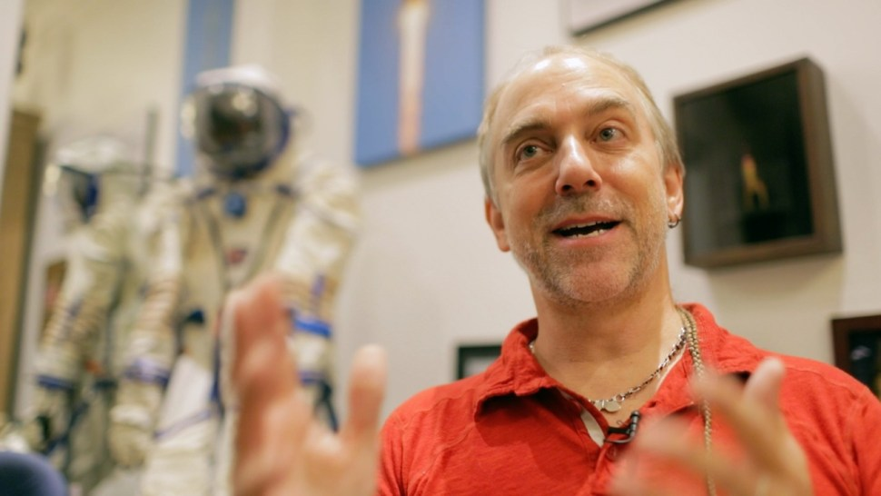 RICHARD GARRIOTT OM