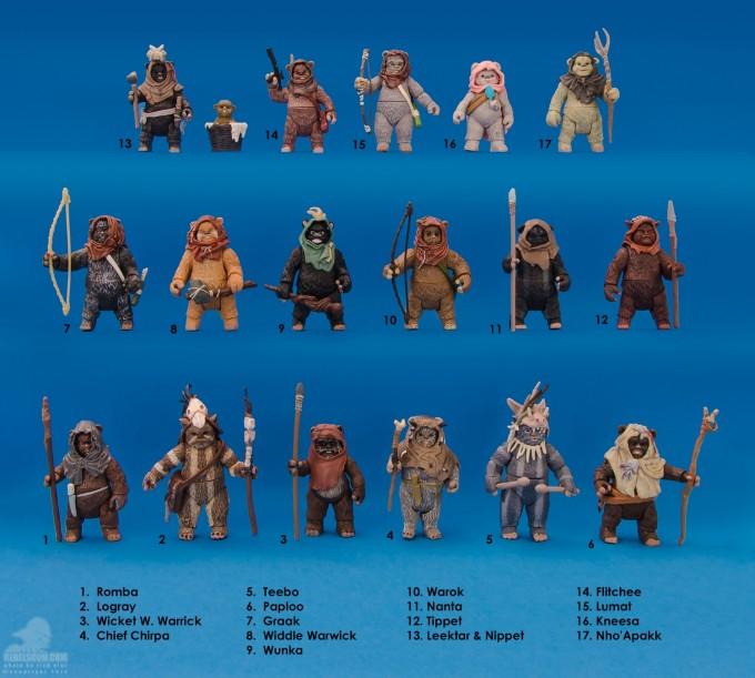 Ewok action figures featured on RebelScum.com.