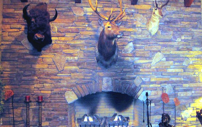 Hunting-lodge