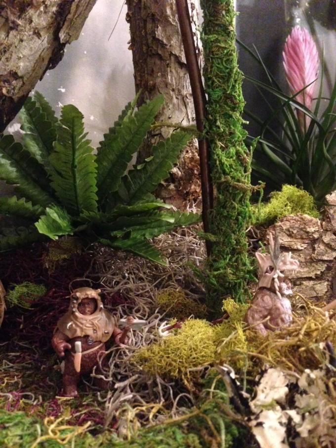 More camouflaged Ewoks.