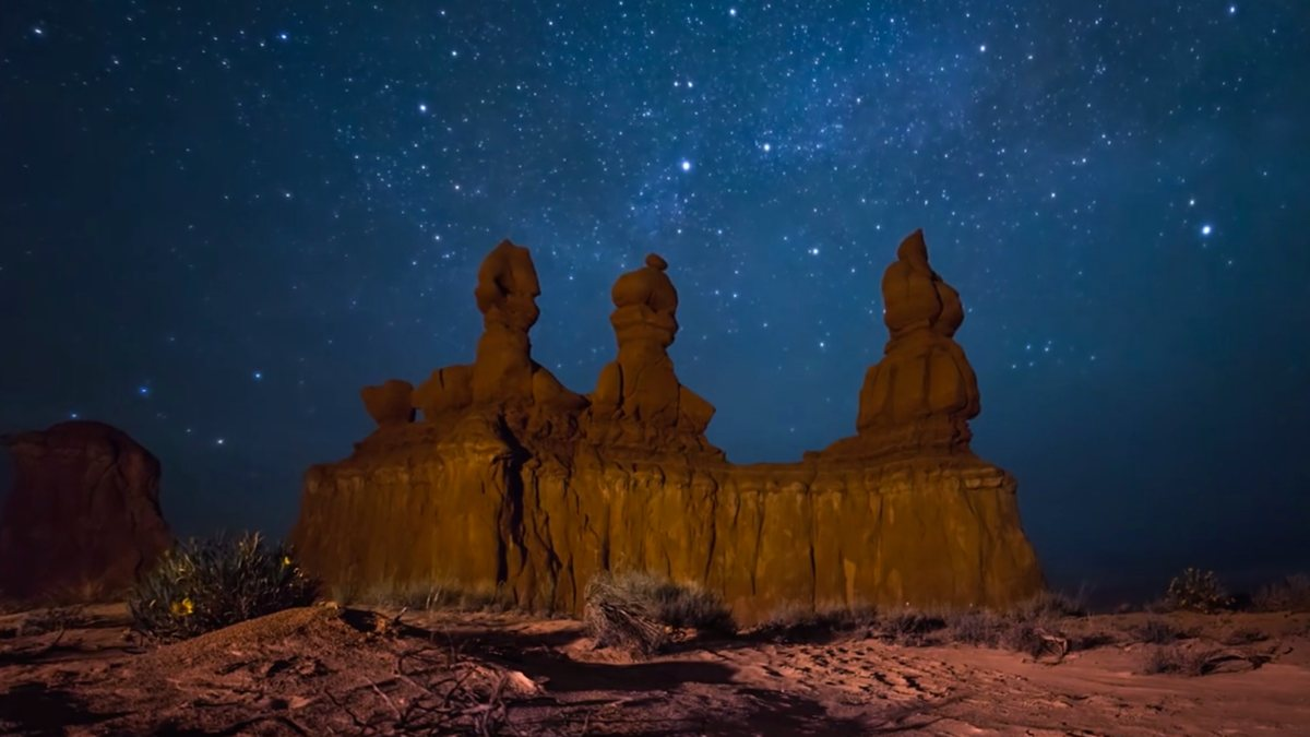 WATCH: incredible dark-sky timelapse of Moab Utah