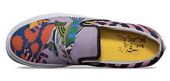 c1729ae8ac Vans with The Beatles  Yellow Submarine graphics   Boing Boing