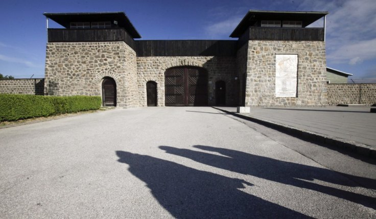 The secret weapons complex was found near Mauthausen-Gusen concentration camp in Austria (Herwig Prammer/Reuters)