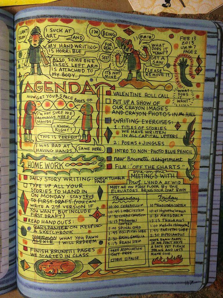 """Lynda Barry's irresistible lesson plan for """"drawing the unthinkable"""""""