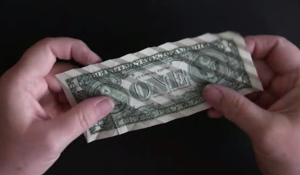 Watch Time Lapse Origami Turns A Dollar Bill Into A Koi Fish