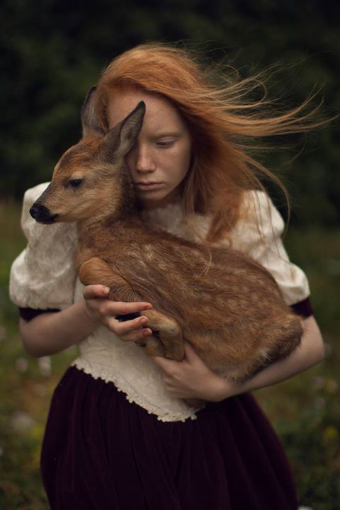Pretty Girls And Forest Creatures Photography By Katerina