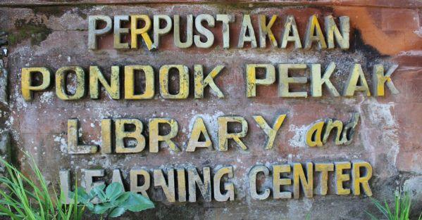 Pondok Pekak Library in Ubud