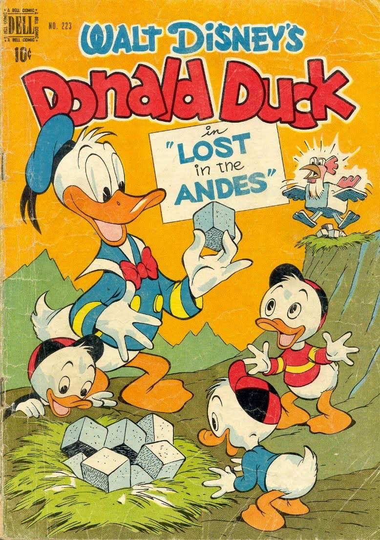 Donald duck mature