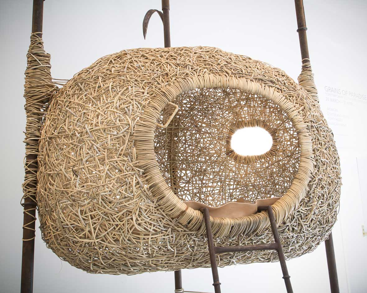 Porky Hefers nest chairs and other whimsical seating