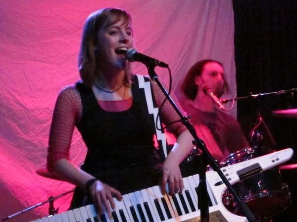 Maddy Myers on keytar