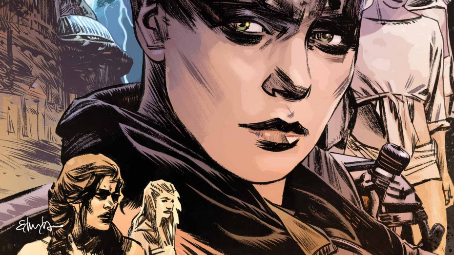 Vertcomics Recently Released A Mad Max Fury Road Furiosa Comic By An All Male Creative Team And Boy Are There Some Problems
