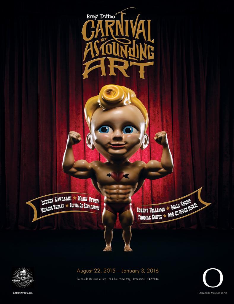 Baby Tattoo: Carnival of Astounding Art