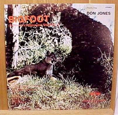 Listen to country songs about Bigfoot (c.1970)
