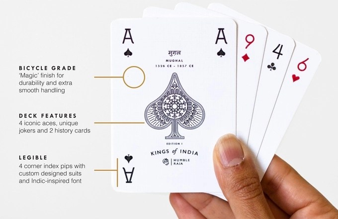 Kings Of India Playing Cards Boing Boing