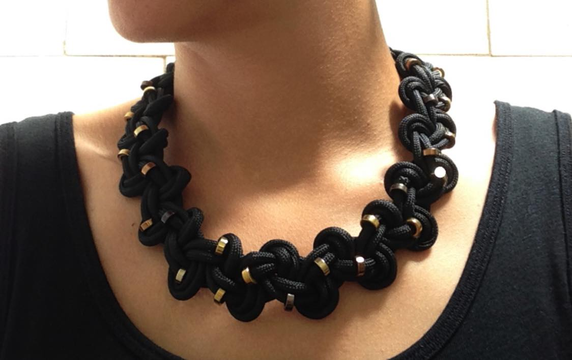 How to make a beautiful MoMA-inspired necklace out of paracord