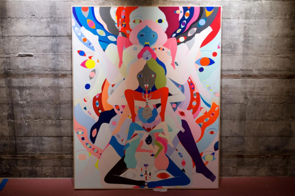 Incredible new paintings by Richard Colman, art opening in ... - photo#27