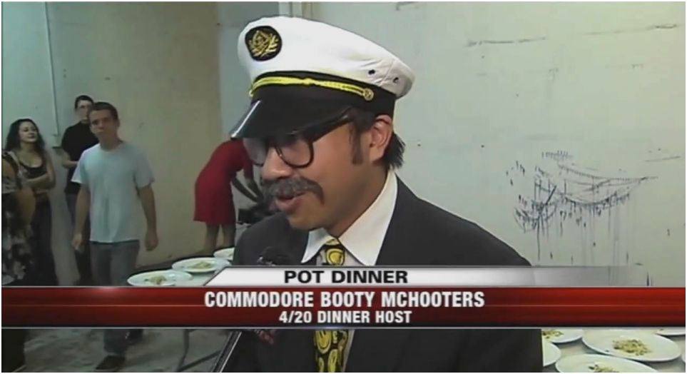 Commodore Booty McHooters of Starry Kitchen