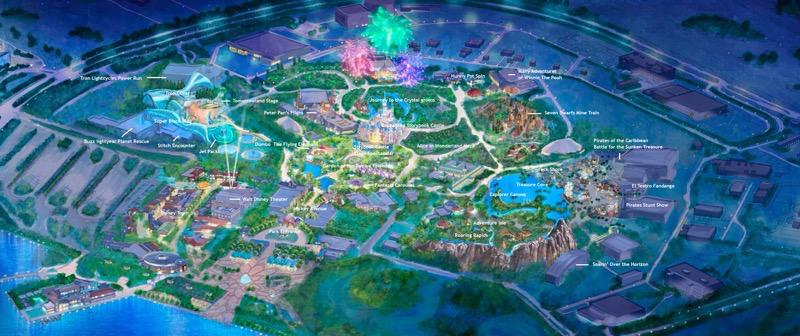 Shanghai Disneyland Overall Park