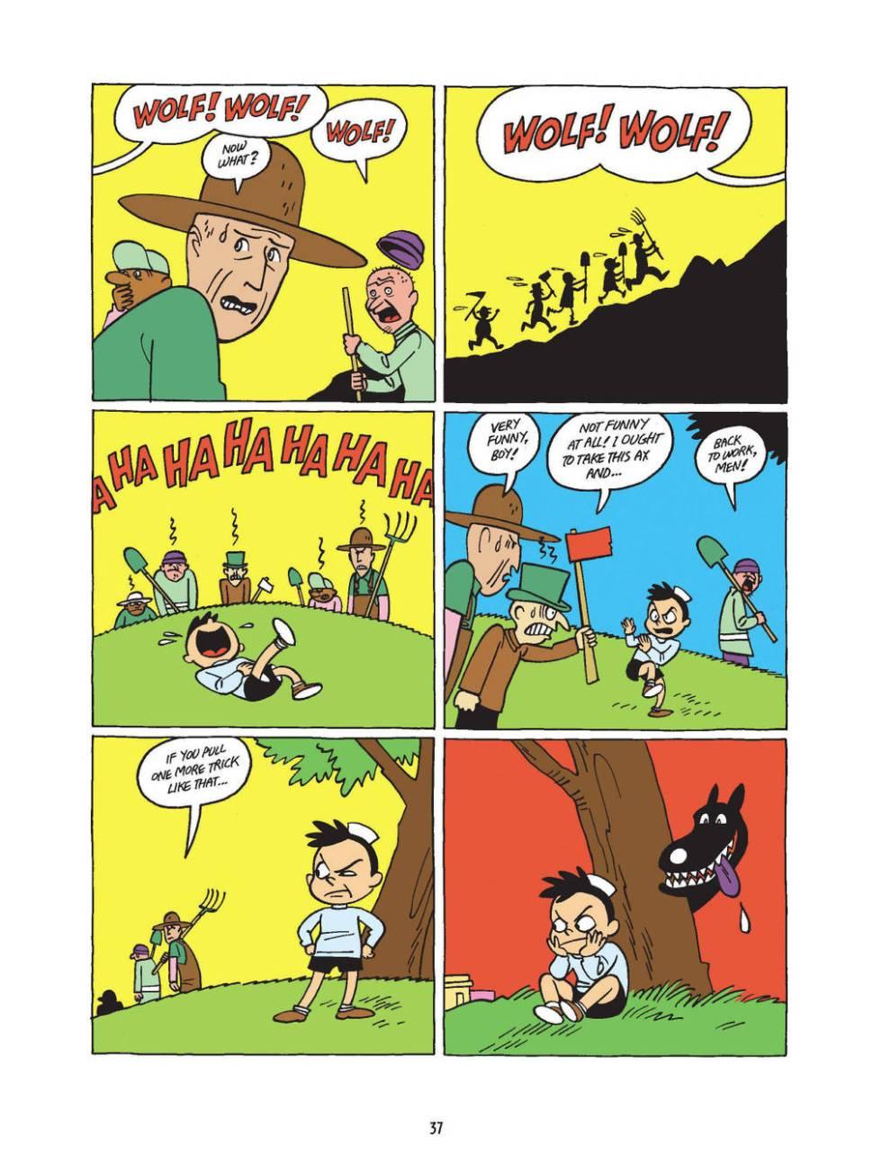 Machanics Near Me >> Fable Comics: anthology of great comics artists telling ...