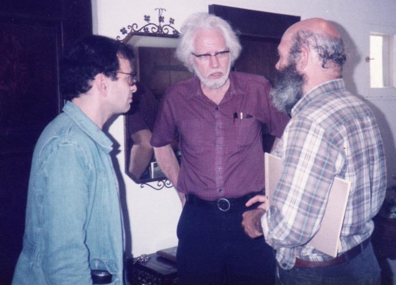 Michael Horowitz (left), Sasha Shulgin (middle), Andy Weil (right).