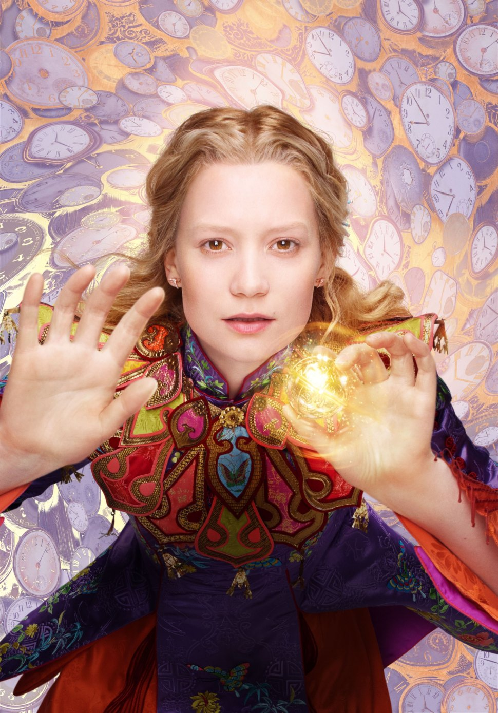 "Mia Wasikowska is Alice in ""Alice Through the Looking Glass."""