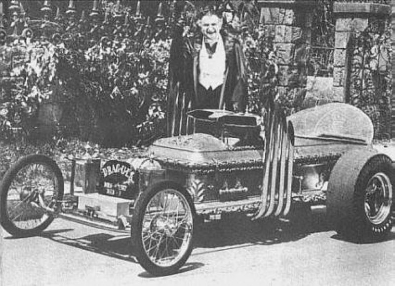DRAGULA, Grandpa Munster's car from The Munsters.