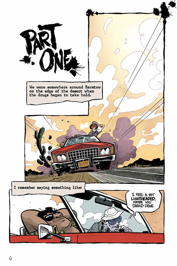 Image result for fear and loathing in las vegas comic book