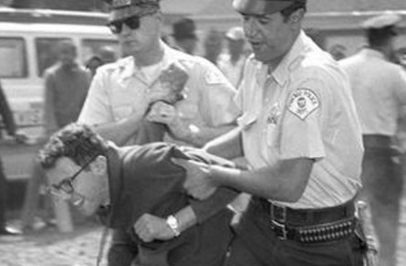 Image result for bernie sanders getting arrested