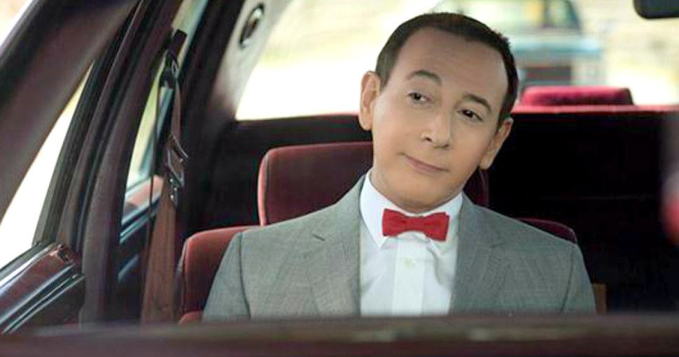 Paul Reubens as Pee Wee Herman in a still from 'Big Holiday'