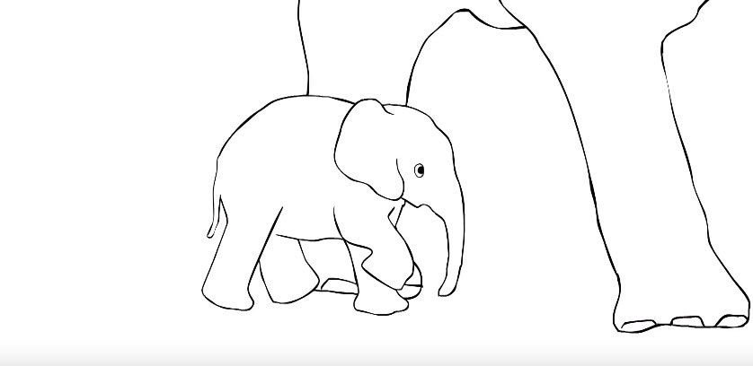 Watch: Thankful elephant salutes people who saved a baby