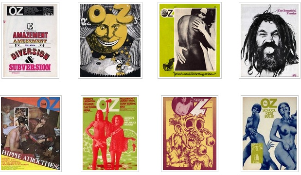 Jake Phelps Wikipedia: Scans Of Complete Run Of OZ, Psychedelic Underground