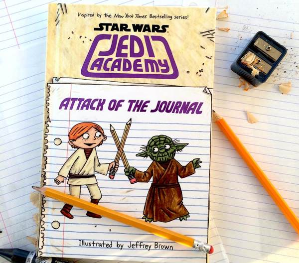 Attack of the Journal – Part journal part sketchbook and a great companion to the Star Wars Jedi Academy series
