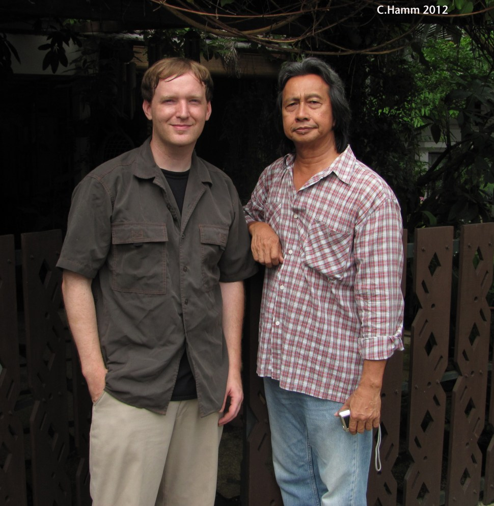 Carl Hamm [L] and Adnan Othman [R]. Photo: Carl Hamm.